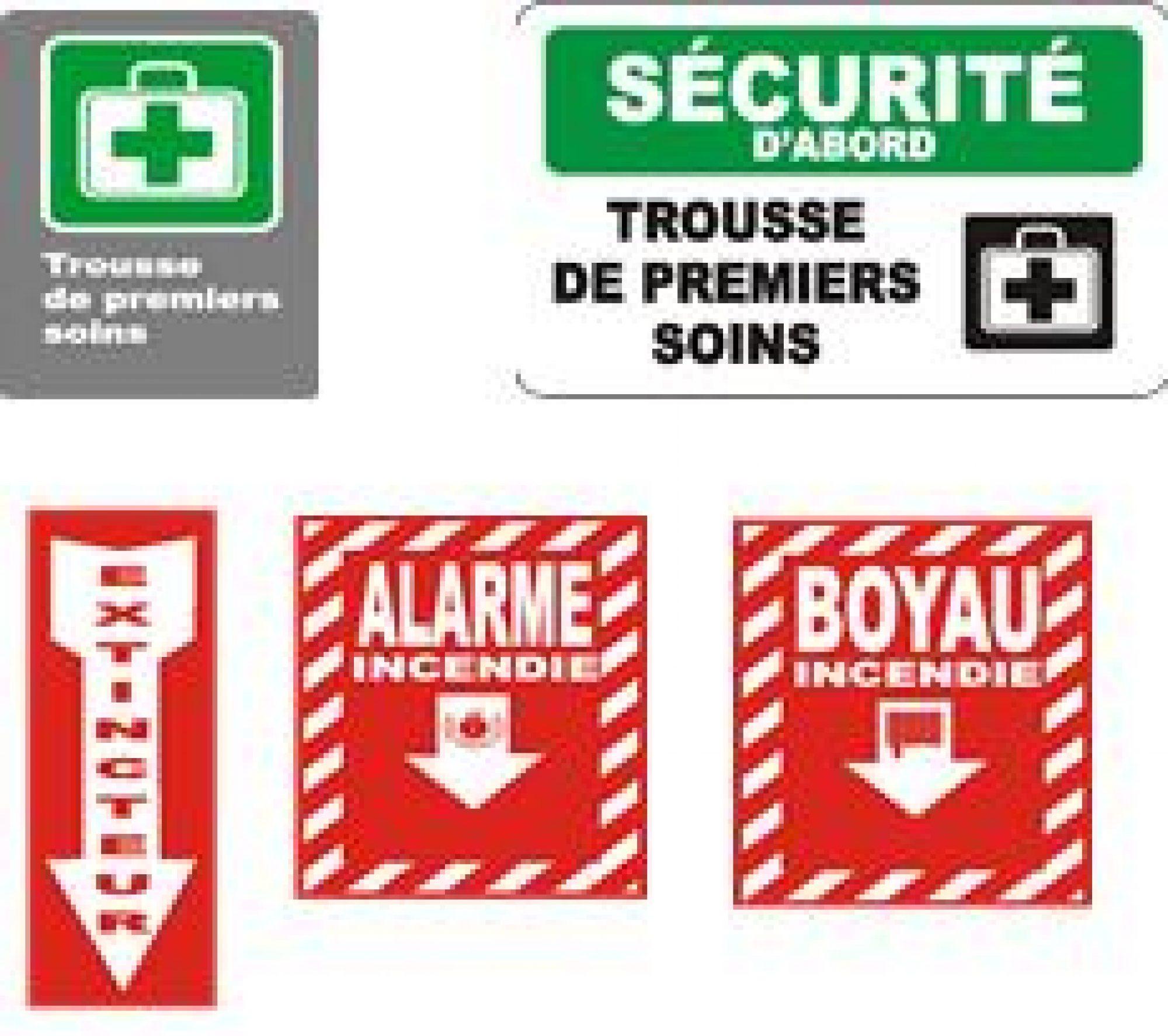 Les affiches de sécurité en milieu industriel au Canada